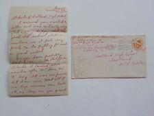 WWII Letter D-Day Landed Philippines Scotland High School South Dakota War WW2
