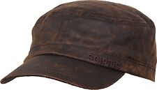Scippis Field Cap Outdoor Biker Kappe Military Army Kappe Käppi Braun