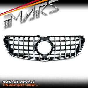 AMG GT Style Bumper Grill Grille for Mercedes-Benz W447 V-Class V220 V250 15-19