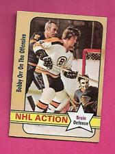 1972-73 OPC # 58 BRUINS BOBBY ORR ACTION  EX+ CARD (INV# C9079)