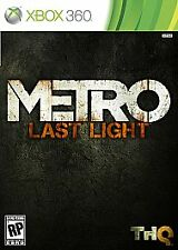 Metro Last Light - Xbox 360 Disc Only In Green Case