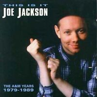 JOE JACKSON This Is It The A&M Years 1979-1989 2CD NEW Best Of