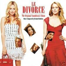 RICHARD ROBBINS - LE DIVORCE OST GAINSBOURG CD (B40)