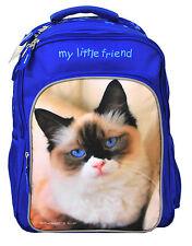Rucksack Katze Schulrucksack My Little Friend Cat 13-a852 blau