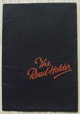 NORTON ROAD HOLDER MOTORCYCLES Sales Brochure 1936 18 16H CS1 19 ES2 20 40 55 ++
