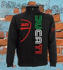 DUCATI GIACCHINO SWEAT JACKET moto gp italian style biker moto rossi marquez