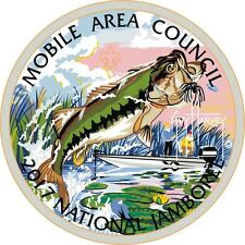 MOBILE AREA COUNCIL AL 2017 BSA Jamboree OA 322 WOA CHOLENA BASS FISH GUY HARVEY