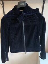 3.1 Phillip Lim Velvet Biker Jacket-sz-2