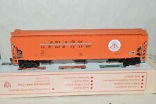 HO scale IHC Ann Arbor RR Michigan PS grain covered hopper car train w/ KD's