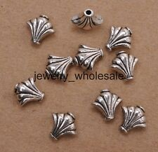 25pcs Tibetan Silver Charms Vase Spacer Beads DIY Jewelry 9x9mm A3125