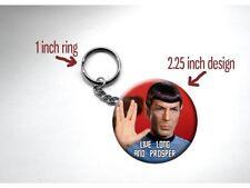 "Spock Leonard Nimoy 'Live Long and Prosper' Hand 2 1/4"" Key Chain"