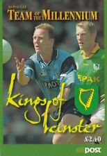 IRELAND BOOKLET : 1999 Football 'Kings of Leinster'  complete SG SB76 MNH
