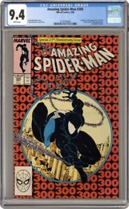 AMAZING SPIDER-MAN 300 CGC 9.4 FIRST APPEARANCE OF VENOM