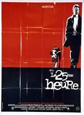 Affiche 120x160cm LA 25ÈME HEURE [25TH HOUR] 2002 Spike Lee - Edward Norton NEUV