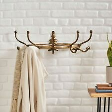 Uvalda Handcrafted Aluminum Wall Mounted Coat Rack