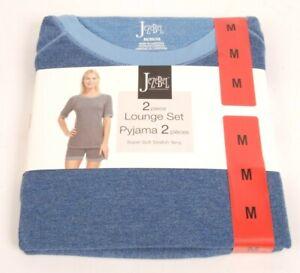 Jezebel 2 Piece Ladies Lounge set Pyjamas Size M