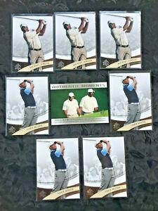 2013 2014 SP Authentic Moments Tiger Woods Michael Jordan Card 3 MJ 4 Tiger