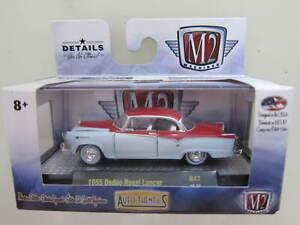 M2 MACHINES - Scale 1/64 1955 Dodge Roval Lancer - R47 - Mini Car D31