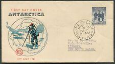Australian Antarctic Territory - 1961 5d DEEP BLUE WCS First Day Cover [C3182]