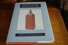 BRITISH CERAMIC DESIGN 1600-2002 EDITED BY TOM WALFORD AND H.YOUNG