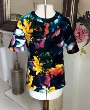 Floral Crew Neck Tops & Shirts Size Tall for Women