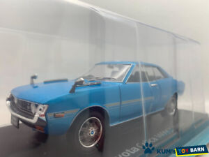 1:24 Domestic famous car collection Toyota Celoca 1600GT 1970 Blue 1/24