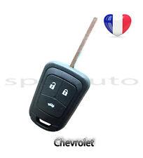 plip coque clé Chevrolet Aveo Cruze Captiva Spark Orlando Camaro