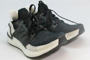 Adidas Ultraboost 19 Women's Black White Sneakers (ZAP6819)