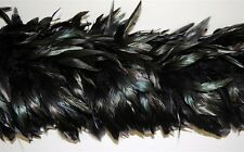 rooster feather boa ,sold by 2 yards pcs ,6-8 inches feather size