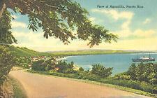 VIntage Postcard-View of Aguadilla, Puerto Rico