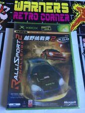 Xbox Original Complete Retro #retrogaming Game Rallisport 2 New Singapore Import
