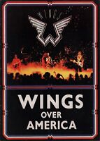 PAUL McCARTNEY 1976 WINGS OVER AMERICA TOUR CONCERT PROGRAM BOOK / EX 2 NMT