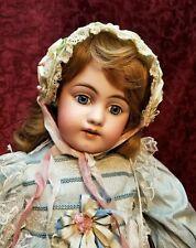 "LARGE 27"" Antique German Simon Halbig 1009 Bisque Socket Head Doll Beauty!"