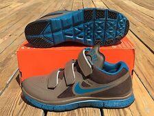 Nike MVP Free Trainer Elite JAPAN SAMPLE Shoes Grey Blue SZ 10 ( 599368-230 )