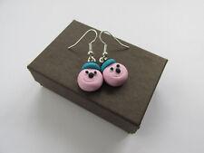 Handmade Mini Sweet Bertie Liquorice Allsort Allsorts Inspired Earrings * Boxed