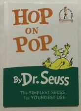 Hop on Pop (I Can Read It All By Myself) Hardcover – by Dr. Seuss - NEW