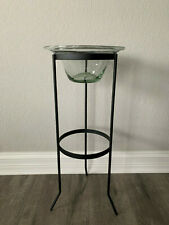Glass Hurricane Globe Replacement Fits Partylite Stands / Seville