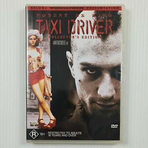 Taxi Driver DVD - Collector's Edition - Robert De Niro - Region 4 - TRACKED POST