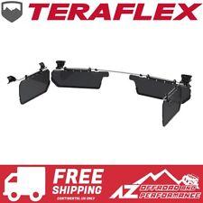 TeraFlex Axis Side Sun Visor Kit Set Smoke 07-18 Jeep Wrangler JK