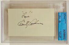 CARL PERKINS Signed Autograph Slabbed JSA Rock-a-Billy Blue Suede Shoes
