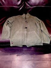 Navy Marine Corps Peckham Polartec Fleece 1/2 Zip Jacket Mens Size Medium Green