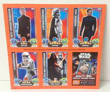 Celebration Europe 2016 Topps Force Attax trading cards **NEW** unpunched
