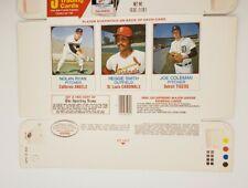 1975 Hostess Box Nolan Ryan,  Smith, Coleman Angels, Cardinals, Tigers #s 58-60