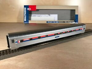 Walthers 932-9019 HO - Amtrak PS 29 Seat Dorm-Lounge - Excellent ++++