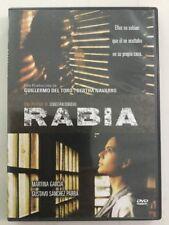 RABIA / Rage - DVD pelicula Martina Garcia Produccion De GUILLERMO DEL TORO