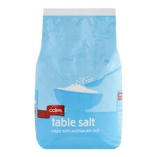 Coles Table Salt 1kg