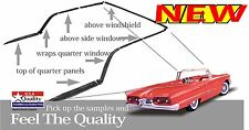1958-1959-1960 FORD THUNDERBIRD CONVERTIBLE TOP KIT -B8S-7651562-KIT MADE IN USA