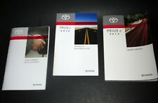 2014 Toyota Prius C Owners Manual Guide Book by Toyota