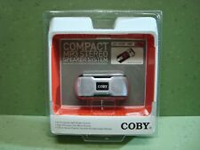 Coby Compact Mini Mp3 Speaker for Ipod and Other Portable Audio Devices