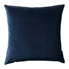 Cushion cover SANELA Dark Blue 50 x 50 cm